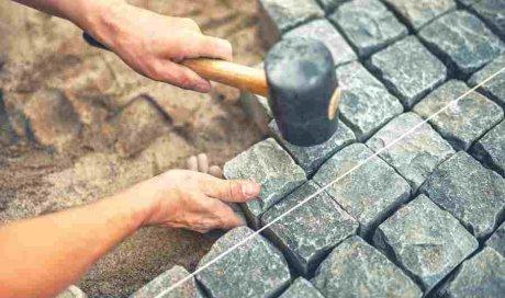 Création et pose de terrasse en pierre sur mesure Auxerre